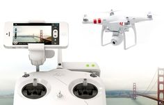 DJI Phantom 2 Vision 640 -- DJI's latest Phantom drone beams aerial footage to your phone