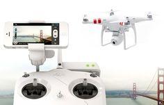 DJI Phantom 2 Vision 640 --DJI's latest Phantom drone beams aerial footage to your phone