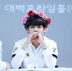 Jungkook flower crown