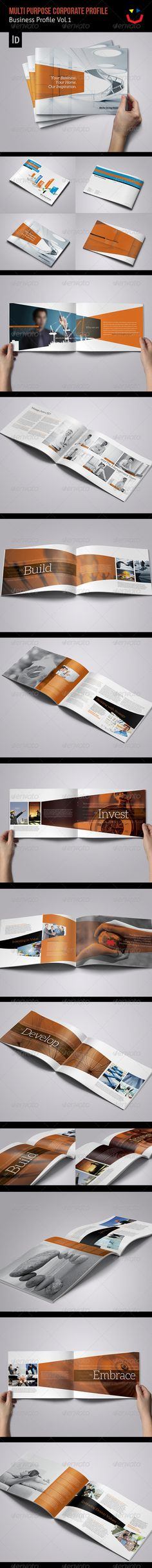 Corporate Business Profile Vol.1 < repinned by Breeze Website Designers