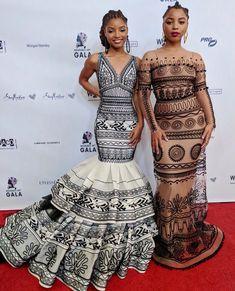 chloe x halle at the wearable art gala African Wear, African Dress, African Fashion, Chloe Halle, Looks Instagram, Peplum Dress, Dress Up, Pretty Hurts, Fashion News