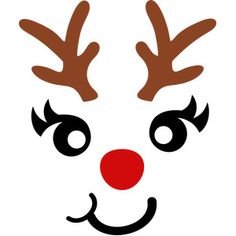Silhouette Design Store: We Wish You A Merry Christmas Cricut Christmas Ideas, Christmas Vinyl, Christmas Ornaments To Make, Christmas Printables, Christmas Projects, Christmas Decorations, Reindeer Face, Snowman Faces, Silhouette Design