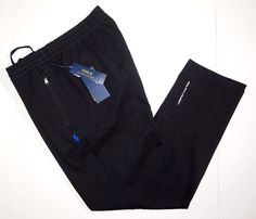 Polo Ralph Lauren interlock track pants athletic size large new with tags  #PoloRalphLauren #CasualPants