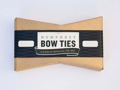 #packaging #design #box #bowtie #package