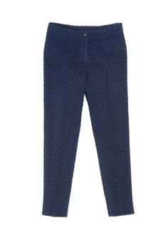 QL2 - MINA WOOL MACRAMÈ STRAIGHT LEG PANT  (SMOOTH AND LINEAR) #women's #fashion