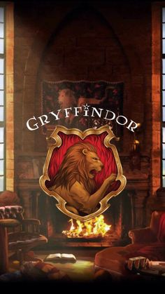 Gryffindor wallpaper common room