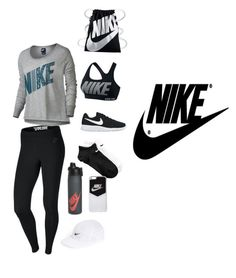 """""""NIKE"""" by alexostrander on Polyvore featuring NIKE"""