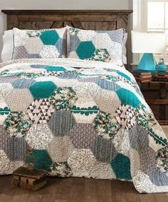 Image result for teal quilt pattern