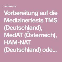 Vorbereitung auf die Medizinertests TMS (Deutschland), MedAT (Österreich), HAM-NAT (Deutschland) oder EMS (Schweiz)! Bücher, Kurse, E-Learning! E Learning, Ems, Studying Medicine, Medicine Student, Small Groups, Switzerland, Education