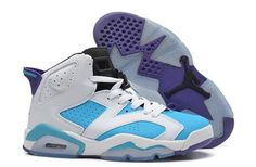 1268ead676869d Buy Ireland Nike Air Jordan Vi 6 Retro Womens Shoes New Special White Blue  from Reliable Ireland Nike Air Jordan Vi 6 Retro Womens Shoes New Special  White ...