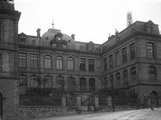 Ancienne bibliothèque de Limoges, photo Jean-Baptiste Boudeau, vers 1910. Bfm Limoges