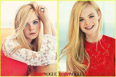 Elle Fanning ~ Teen Vogue ~ Lace // Reds