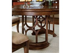 Archipelago Monserrat Round Pedestal Table