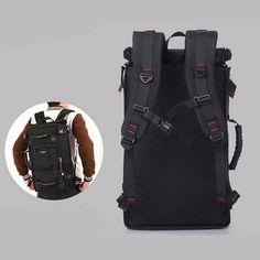 afb0ed40c7 Bagail Oxford Backpack Casual Travel Single-shoulder Crossdody Bag  Multi-functional Laptop Bag For