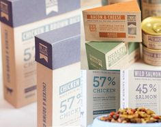 40 creative examples of Pet Food Packaging for your inspiration. From dog to fish, rabbit, bird and even reptile food but mostly cats and dogs.