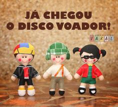 Turma do Chaves, de Juliana Motzko Artes.