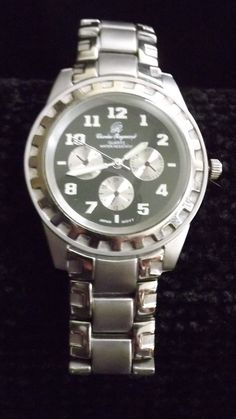 Charles Raymond Men's Watch Silver colored  Water resistant