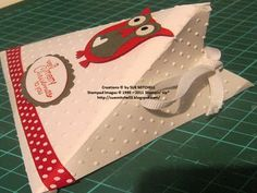 triangle card I have the pattern Stampin' Up! Australia - Sue Mitchell: STAMPIN' UP! CHRISTMAS GIFT IDEAS - 3D PROJECTS