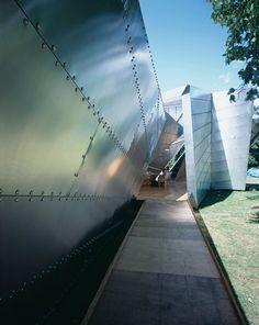 Serpentine Gallery Summer Pavilion 2001, London, United Kingdom, Architect: Daniel Libeskind Stock Pictures, Stock Photos, Sou Fujimoto, Olafur Eliasson, Peter Zumthor, Daniel Libeskind, Toyo Ito, Oscar Niemeyer, Frank Gehry