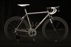 RE-PIN THIS!    Hampsten Cycles Titanium Road Bike