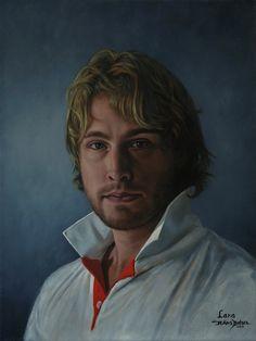 Hans Bulder. Lars. Zo nu en dan maak ik een portret. Dit portret heb ik gemaakt van mijn zoon Lars.