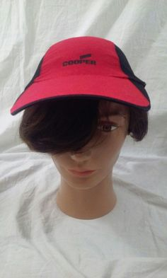 c43377ad037 Cooper Power Systems Red Black Adjustable Baseball Cap  PrakticaSport   BaseballCap  cooperpowersystems Hat Day