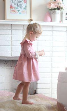 Vestido de Isabella Dress manga larga vestido de invierno
