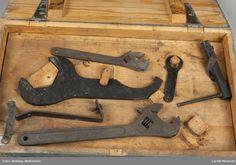 verktøykiste tilhørende kanon lsj 02244-A. Tools, Cash Register, Appliance