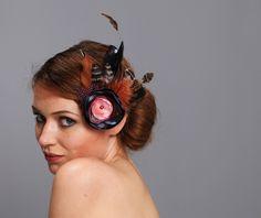 very bourlesque headpiece