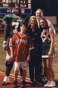 How did the tuohy family help micheal?