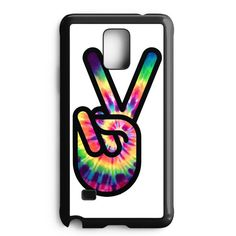 Hippie Peace Sign Samsung Galaxy Note 4 Case