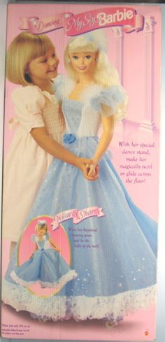 I remember I got her one year for Christmas! I loved her dress and wore it all the time.