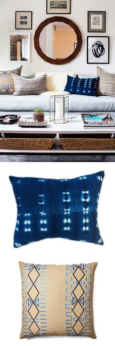Snag @honestlywtf's killer sofa style with these pillows!