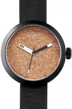 4358c96d776 Minimalist Cork Watch by Clomm (UK design house)