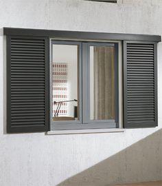 Window aluminium RAL 7001 - L A