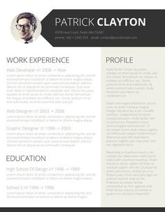 Smart And Professional Resume