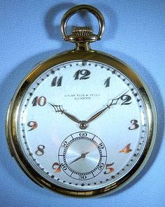 Bogoff Antique Pocket Watches Audemars Piguet Minute Repeater - Bogoff Antique Pocket Watch # 6718