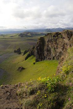Dyrhólaey, Iceland photographed by Kaja Þrastardóttir