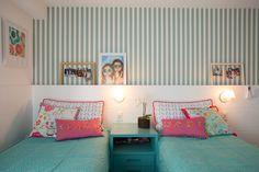 quarto de menina - papel de parede - girl´s room - wallcovering - Studio 021 Arquitetura
