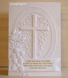 Have you seen the latest release from Simon Says Stamp, its called Fresh Bloom . I was lucky enough to be sent OutLine Floral Cross and. Sympathy Cards, Greeting Cards, Birthday Sentiments, Christmas Challenge, Christian Cards, Simon Says Stamp, Pattern Paper, Making Ideas, Holiday Cards