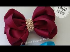 Making Hair Bows, Diy Hair Bows, Diy Bow, Bow Hair Clips, Hair Bow Tutorial, How To Make Ribbon, Diy Hair Accessories, Girls Bows, Ribbon Bows