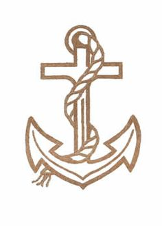 "anchor tattoo, ""we have this hope as an anchor for the soul, firm and secure, strong and steadfast."" Hebrews 6:19"