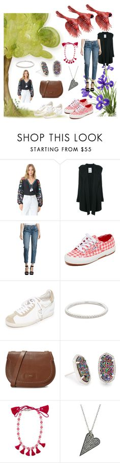 """Fly of Fashion"" by denisee-denisee ❤ liked on Polyvore featuring Figue, Lost & Found, OneTeaspoon, Superga, Ash, EF Collection, Furla, Kendra Scott, Shourouk and Rebecca Minkoff"