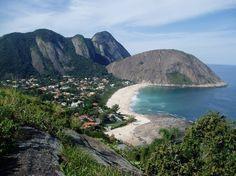 Itacoatiara beach, Niterói, Rio de Janeiro, Brazil