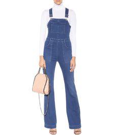 mytheresa.com - Denim Dungarees ∫ Stella McCartney ◊ mytheresa.com - Luxury Fashion for Women / Designer clothing, shoes, bags