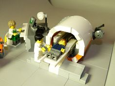 Lego MRI- great for young boys! Boys and Legos always go hand in hand, but with this real like MRI replica, it will make the aspects and features of a MRI more descriptive and understandable.