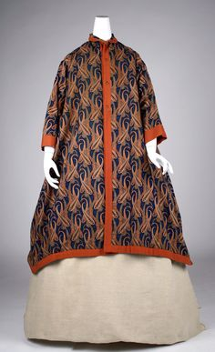 Mid-19th century, America or Europe - Dressing gown