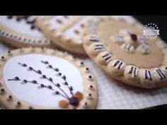 Zrób to sam: Mazurek Wielkanocny - YouTube Polish Easter, Cookie Desserts, Tasty Dishes, Sweets, Meals, Cookies, Baking, Holidays, Youtube