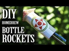 ▶ Home-brew Bottle Rockets - (From Household Materials) - King of Random, YouTube.  Be sure to find out how to make your own fuses too.