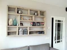 Palette, New Room, Pallet Furniture, Cozy House, Home Living Room, Wall Shelves, Diy Home Decor, Sweet Home, Apartment Ideas